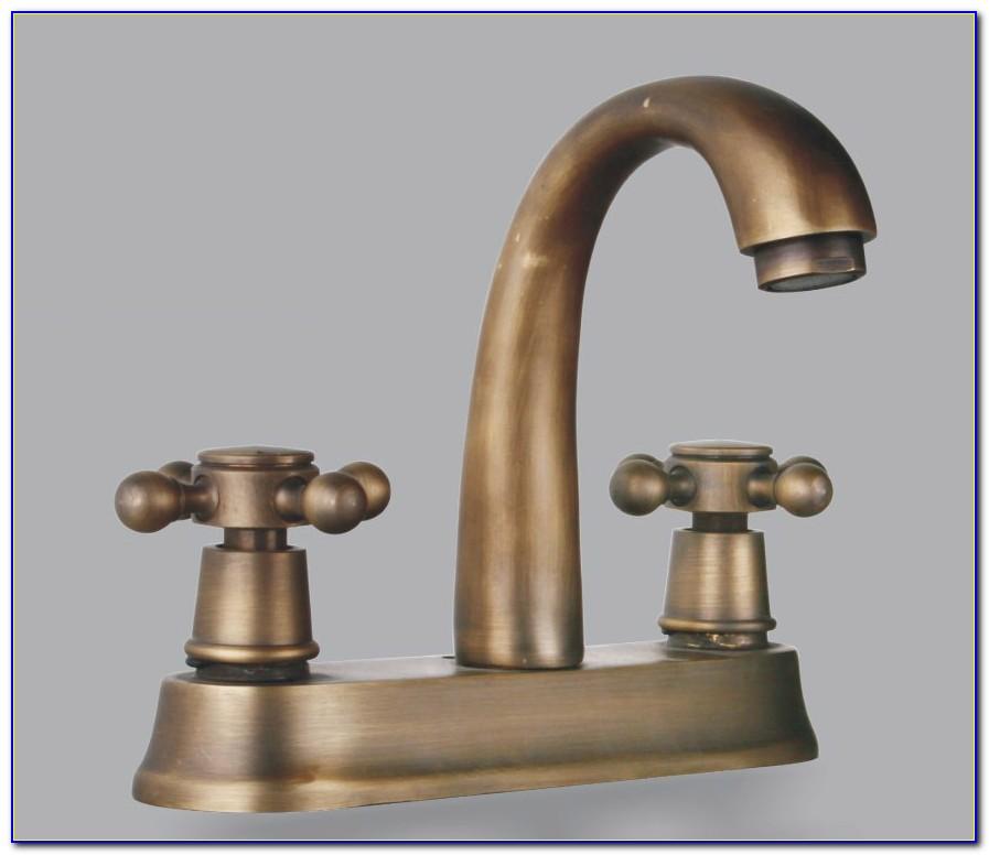 Vintage Brass Bath Faucets