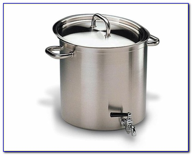 Vollrath Stock Pot With Faucet
