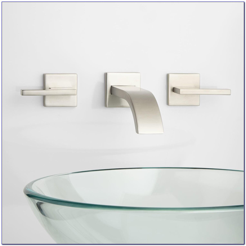 Wall Mounted Faucets Bathroom Sink