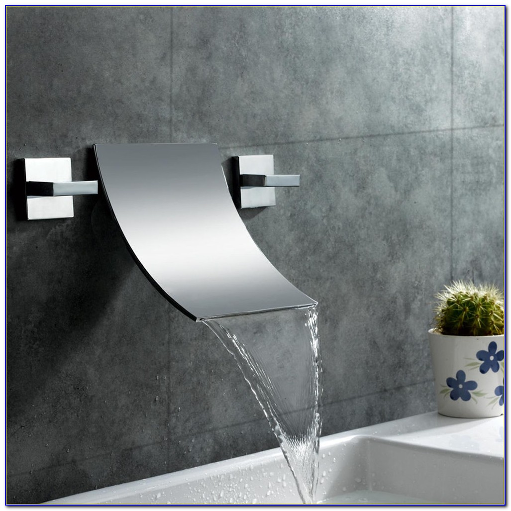 Wall Mounted Waterfall Faucets For Tubs