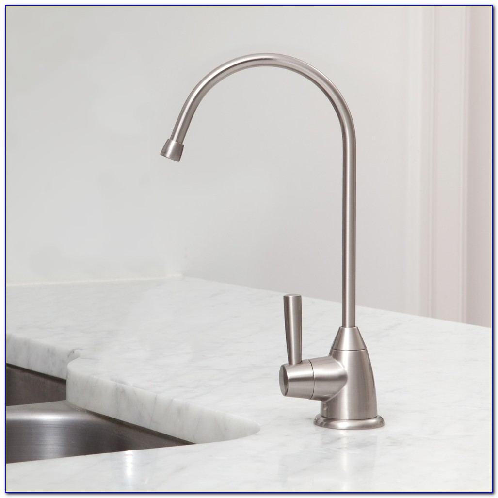 Water Filter Purifier Faucet European Style Brushed Nickel