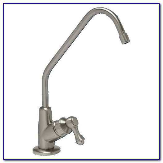 Water Filtration Faucet Brushed Nickel