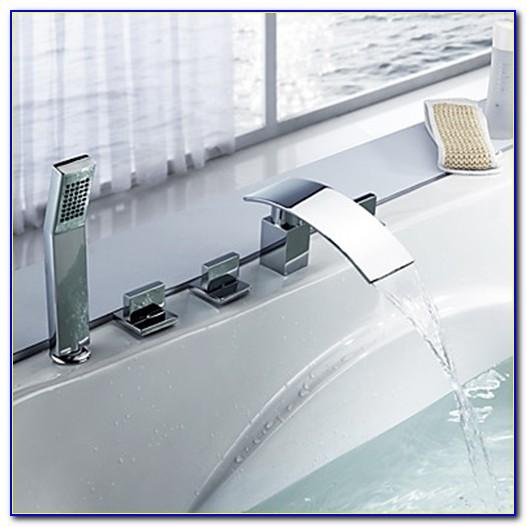 Waterfall Bathtub Faucets