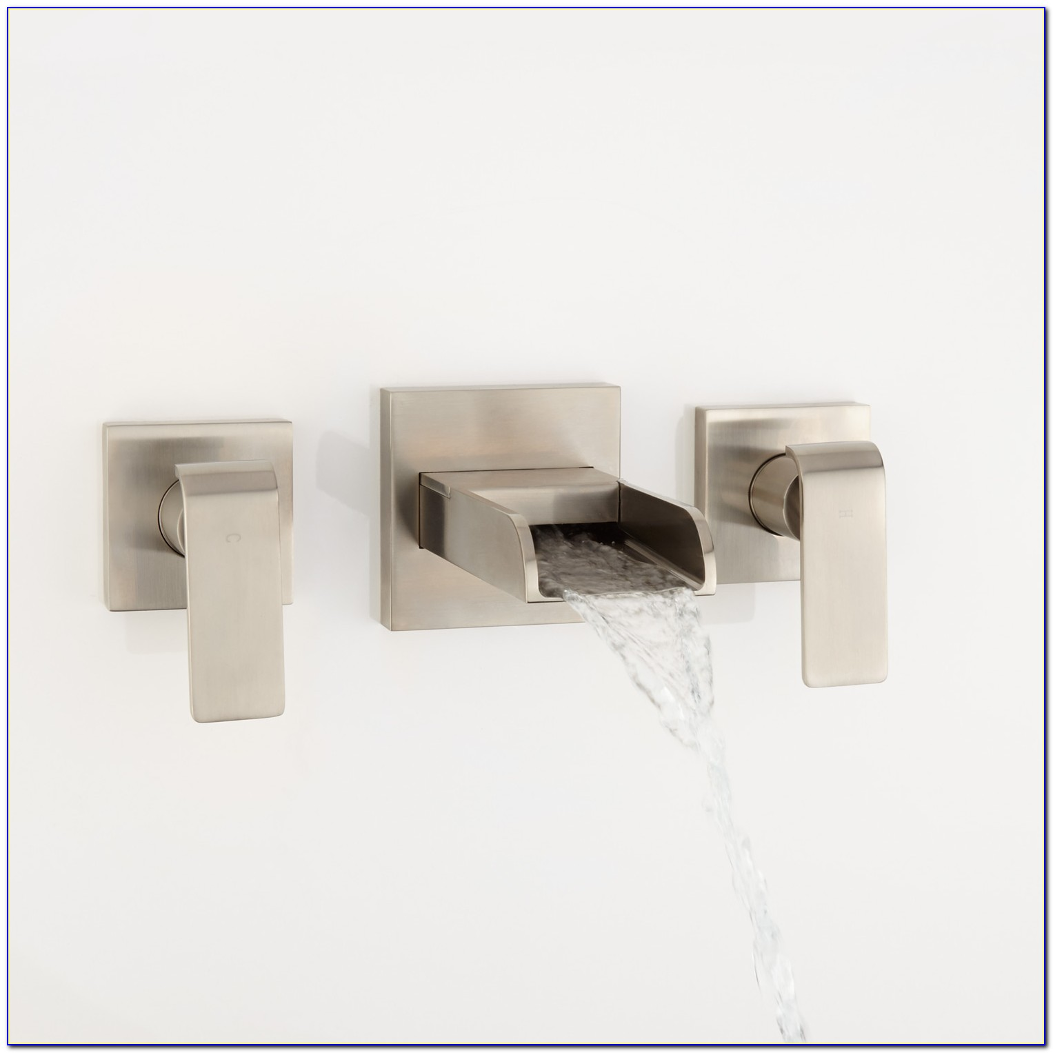 Waterfall Wall Mount Sink Faucet