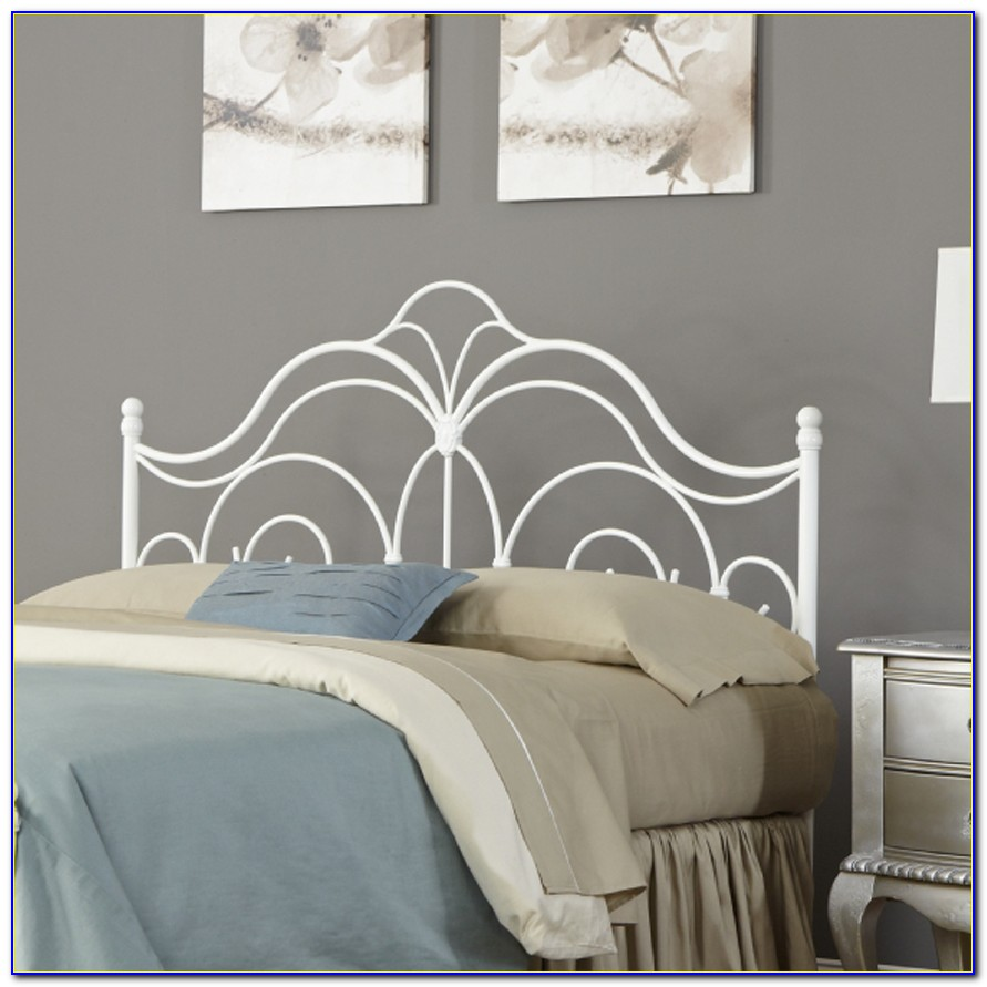 White Queen Size Headboard And Footboard