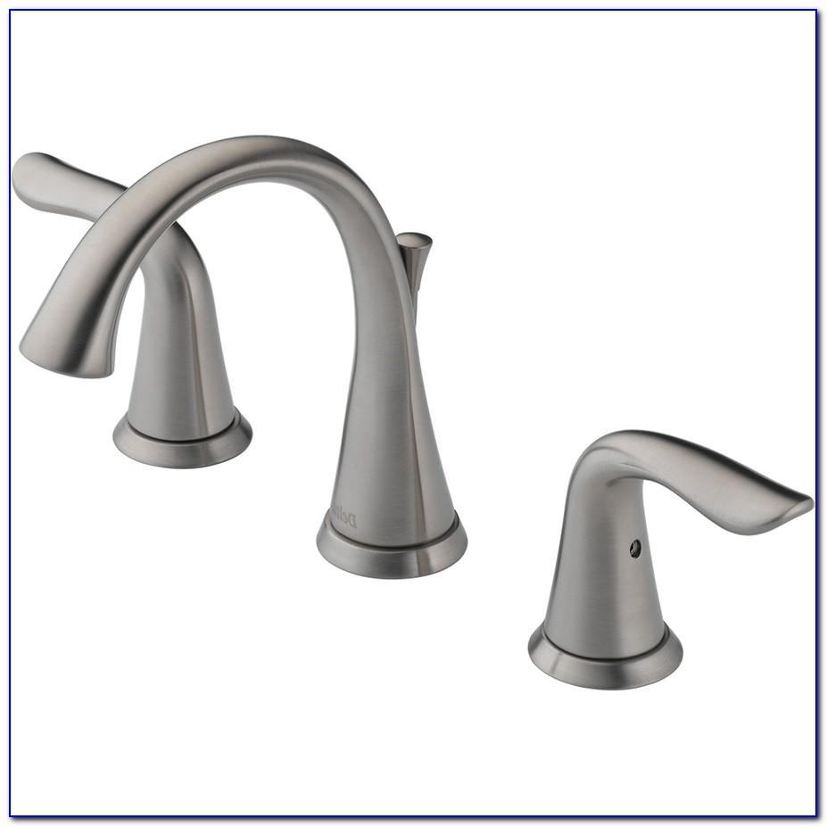 Widespread Waterfall Bathroom Sink Faucet