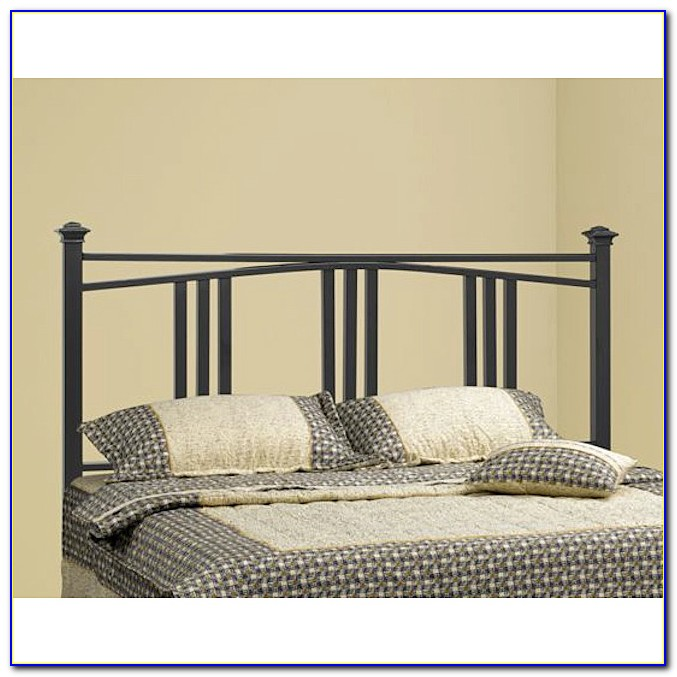 Wood And Metal Full Size Headboards