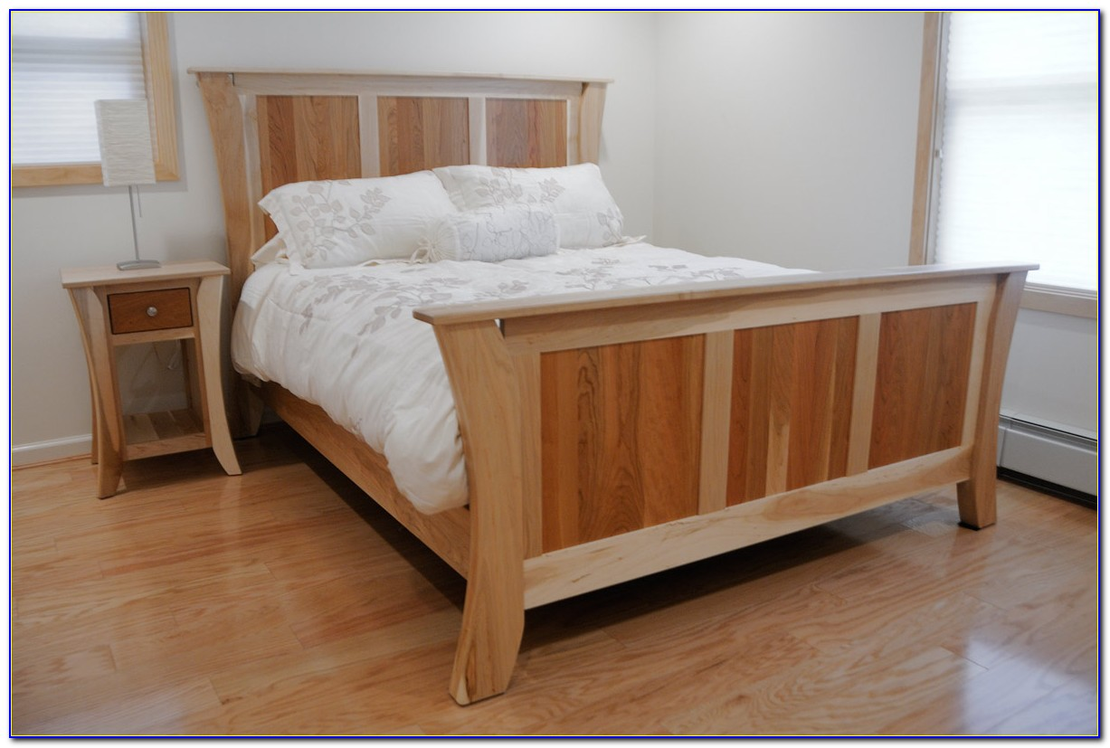 Wooden Bed Frame Without Headboard