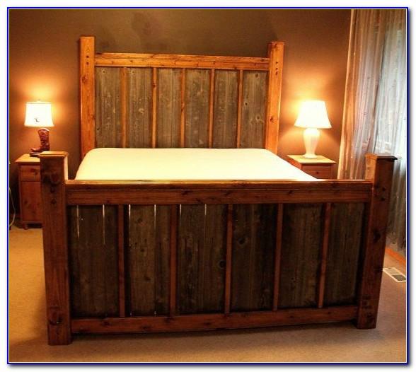 Wooden Headboard And Footboard