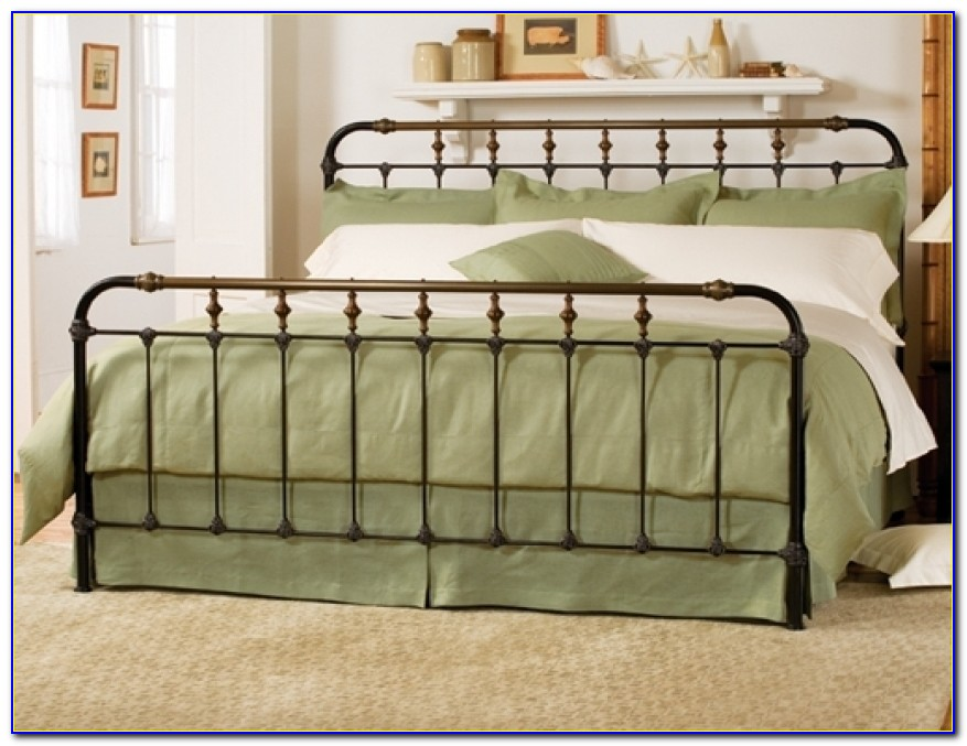 Awesome Iron Bed Frames King Googang Wrought Iron Bed Frame King