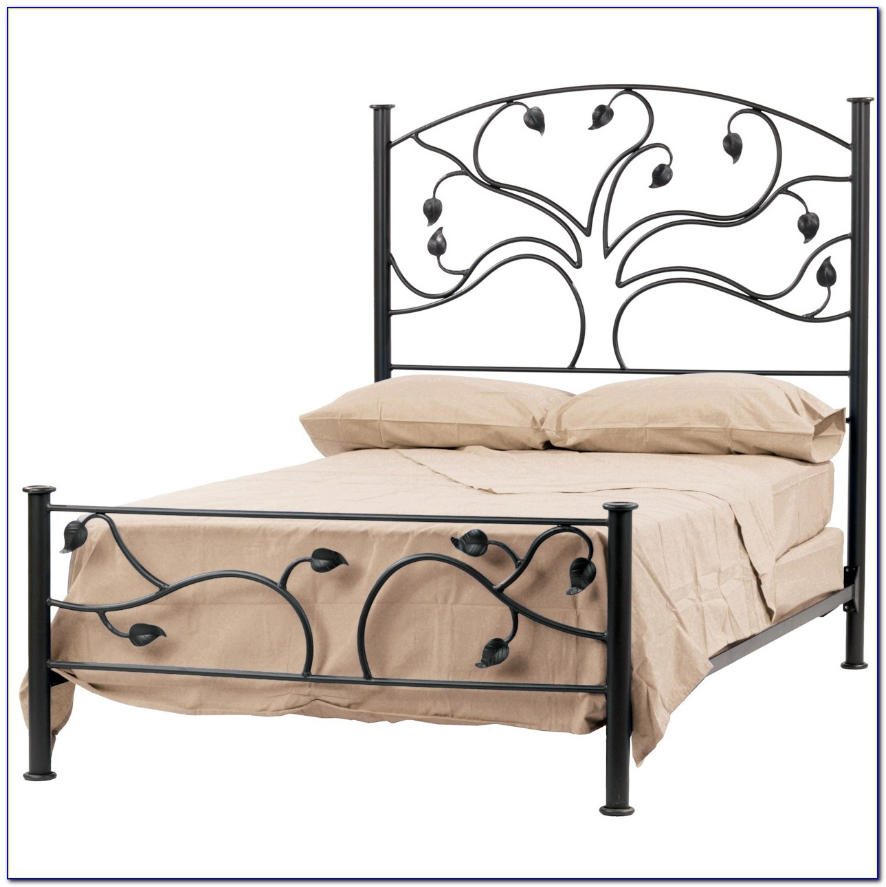 Wrought Iron King Headboard