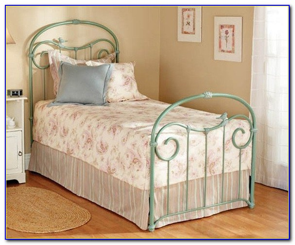 Wrought Iron Twin Headboard