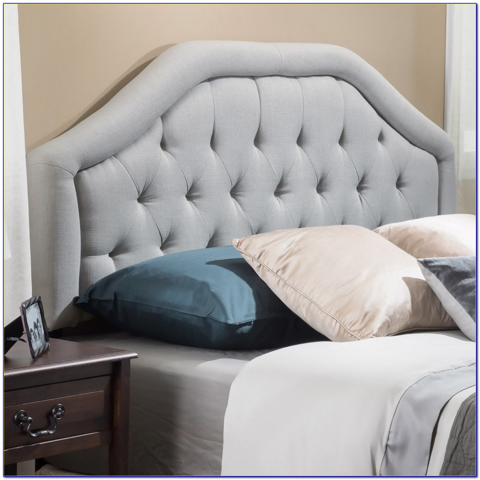 Beds With Large Padded Headboards