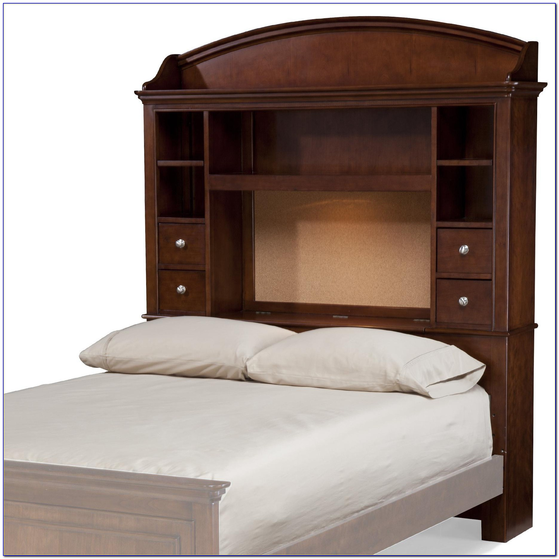 Beds With Shelf Headboards