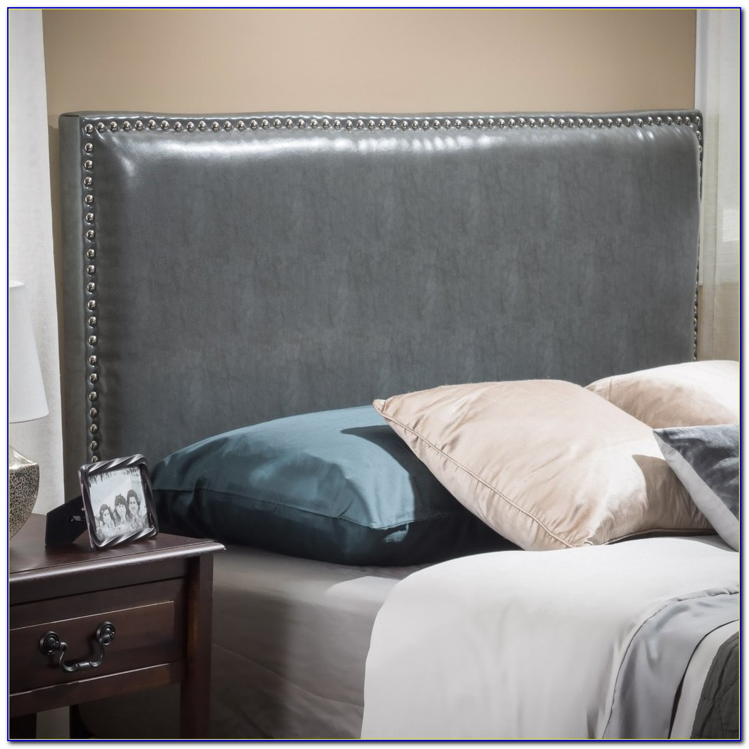 Cal King Leather Headboard