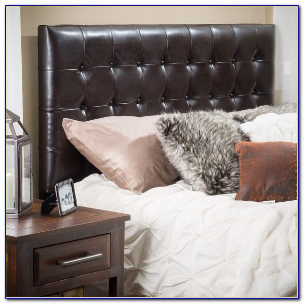 California King Leather Headboard