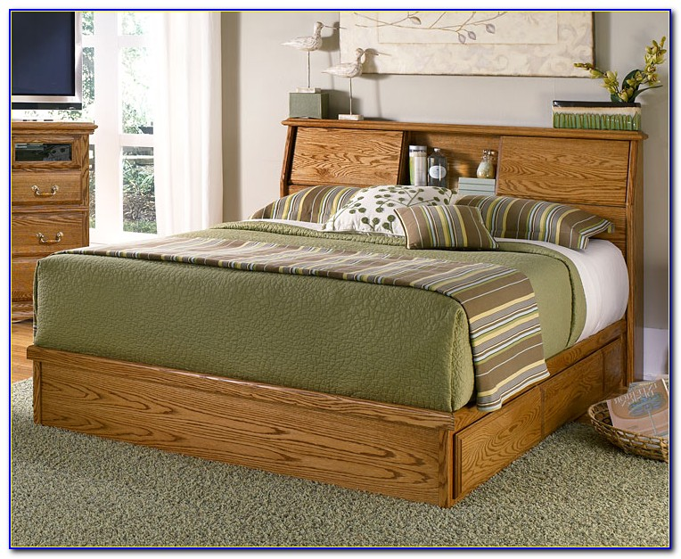 Headboards With Shelves For King Size Beds