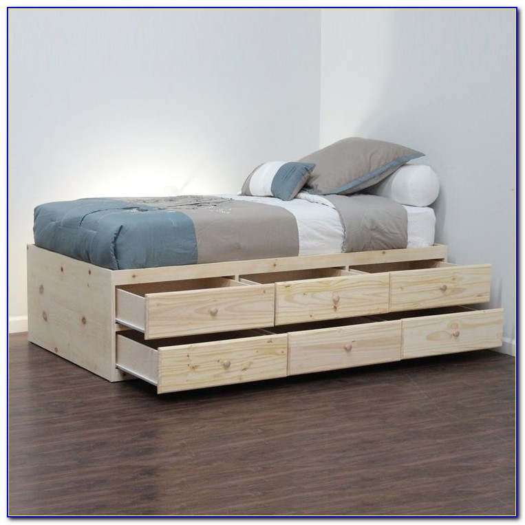 Ikea Storage Bed No Headboard