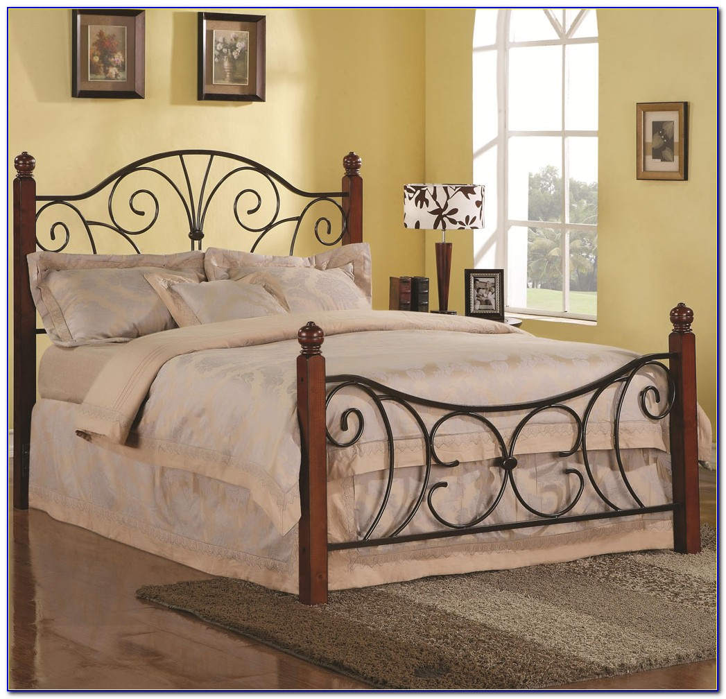 King Bed Frame For Headboard And Footboard