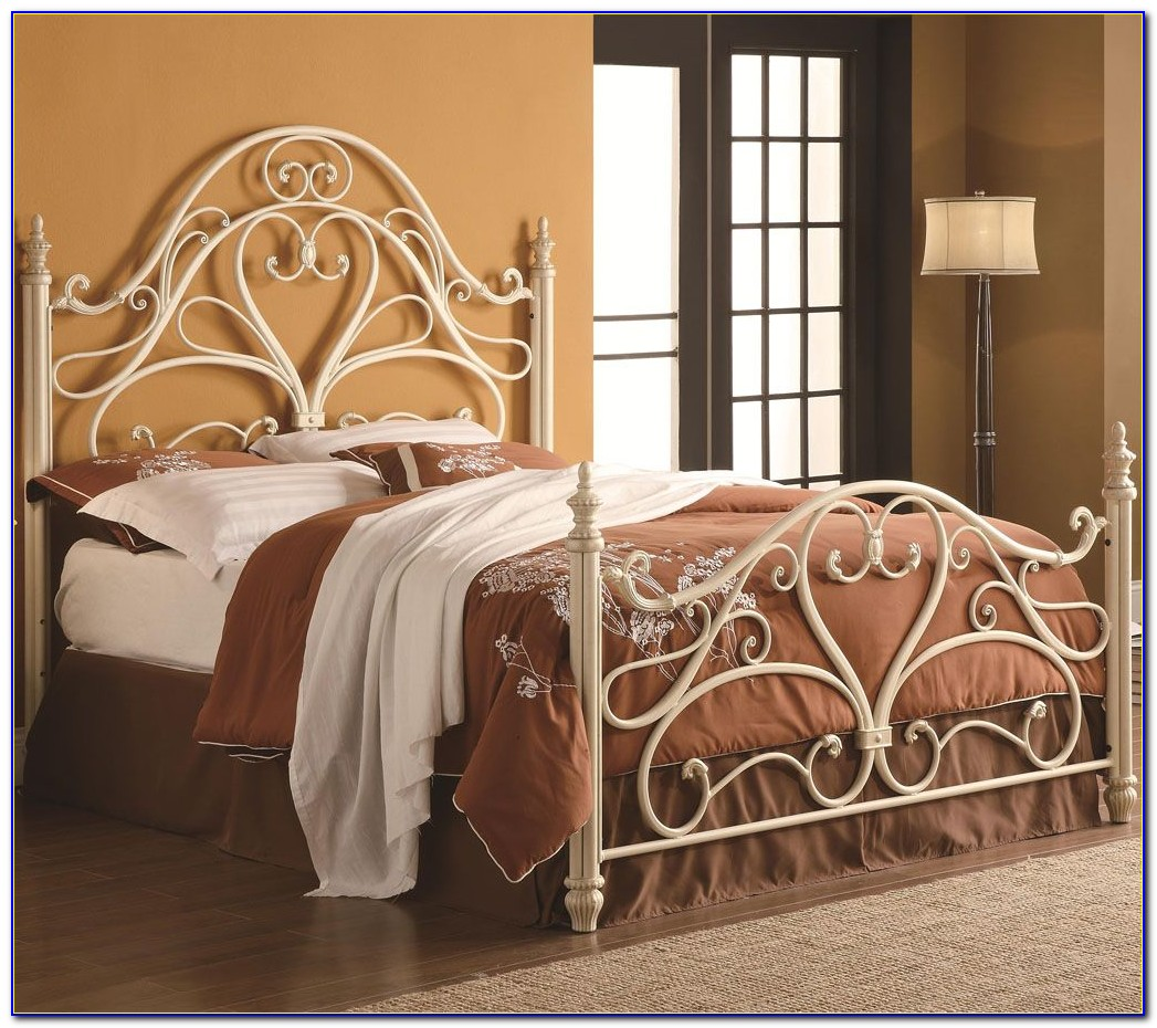 Metal Headboard Queen Size Bed