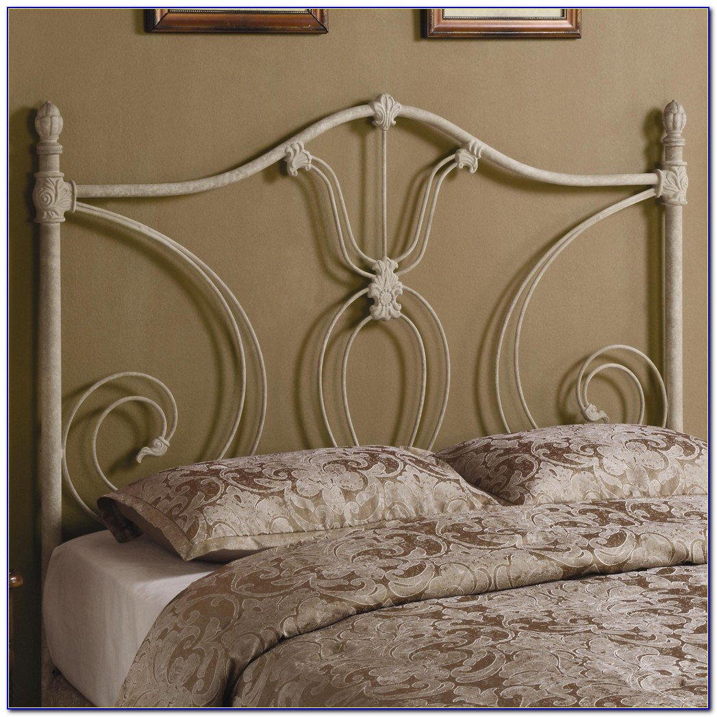 Metal Queen Bed Frame Headboard