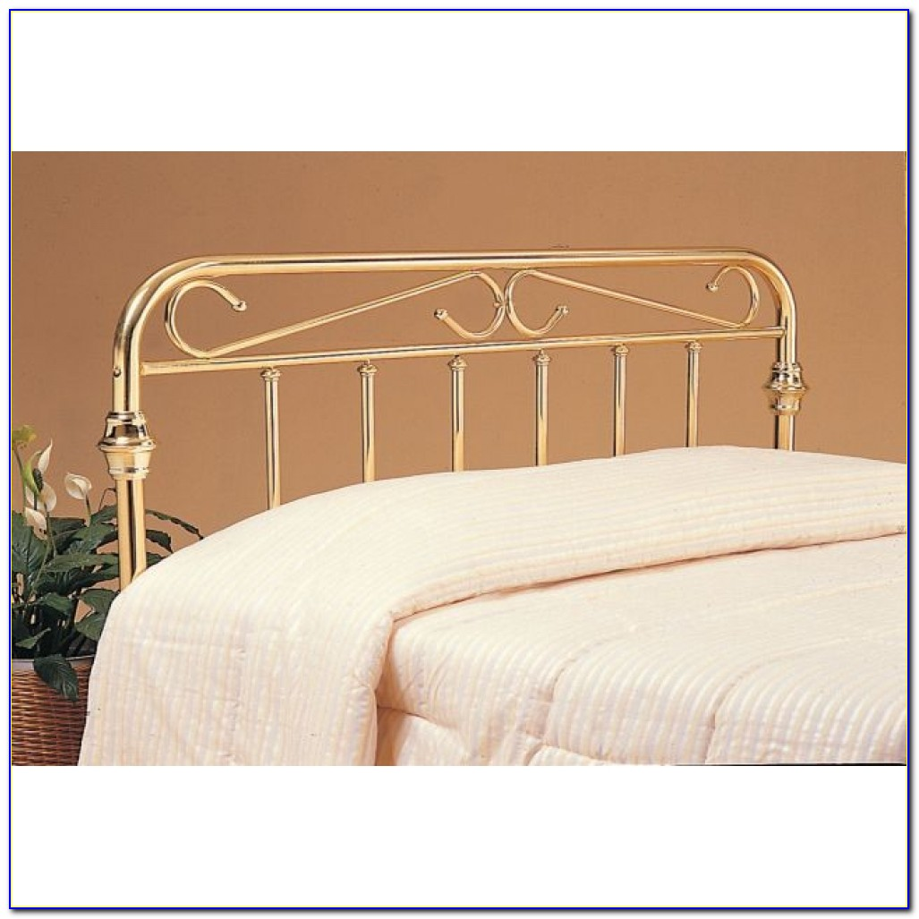 Metal Queen Platform Bed With Headboard