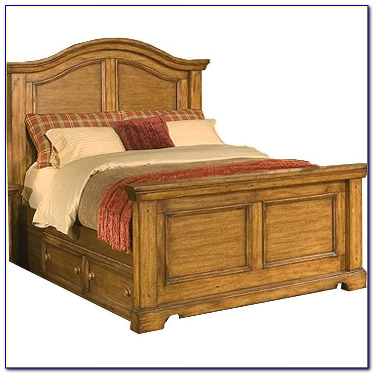Solid Wood King Headboard With Storage