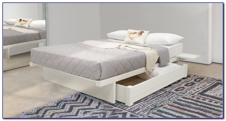 Storage Bed Without Headboard Singapore