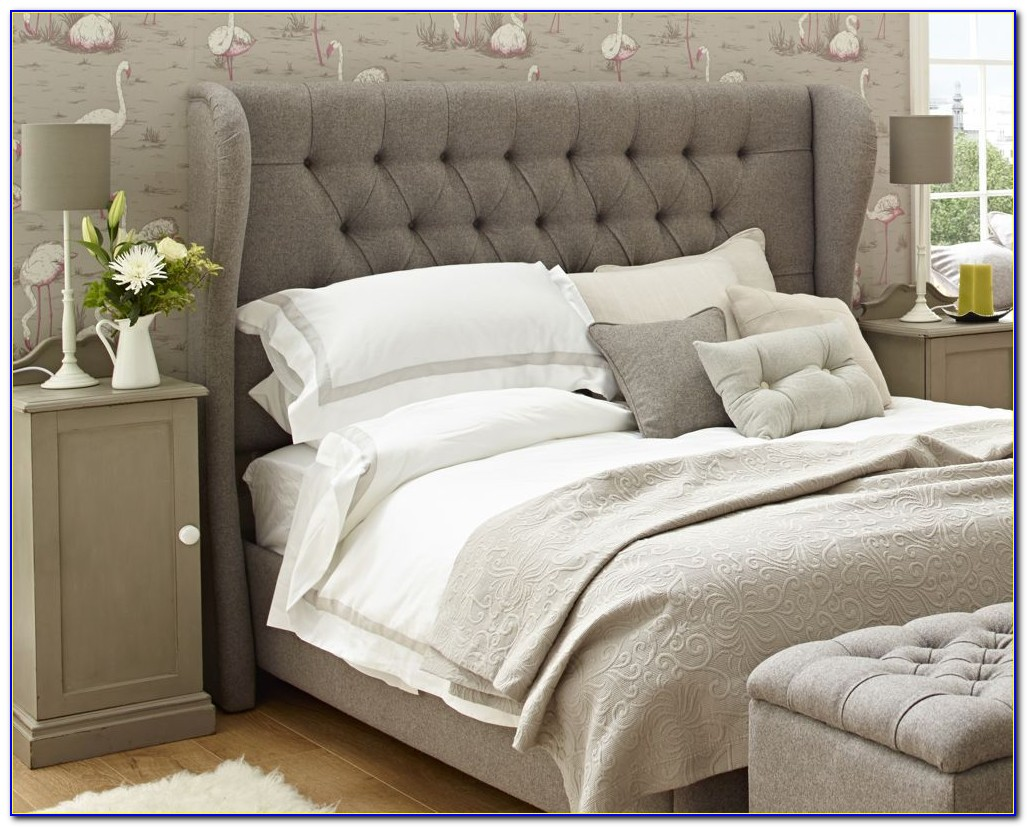 Storage Beds With Fabric Headboard