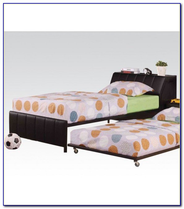 Twin Storage Beds With Headboard Bookcase