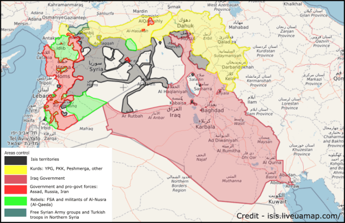 conflict in syria
