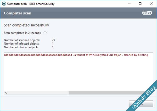 Quét USB bị nhiễm virus ẩn file