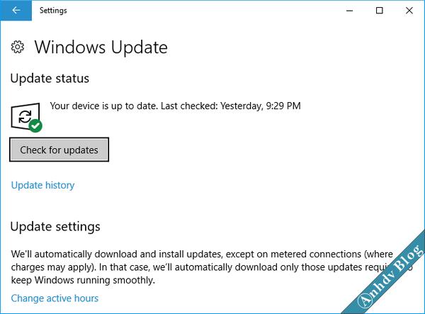 Phòng chống ransoware tống tiền - windows update