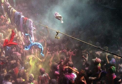 Lễ hội Holi: Cuộc chiến sắc màu ở Ấn Độ - 4