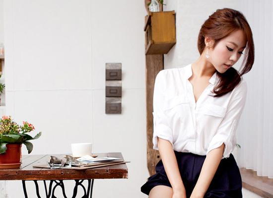 Thời trang công sở: Ngây ngất với sơmi, Thời trang, thời trang, áo sơ mi, người đẹp, mặc đẹp, thời trang công sở