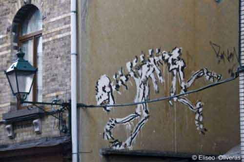 Mãn nhãn với nghệ thuật tranh tường 3D, Phi thường - kỳ quặc, chuyen la, chuyen la the gioi, tranh tuong, tranh 3D, Eliseo Oliveras