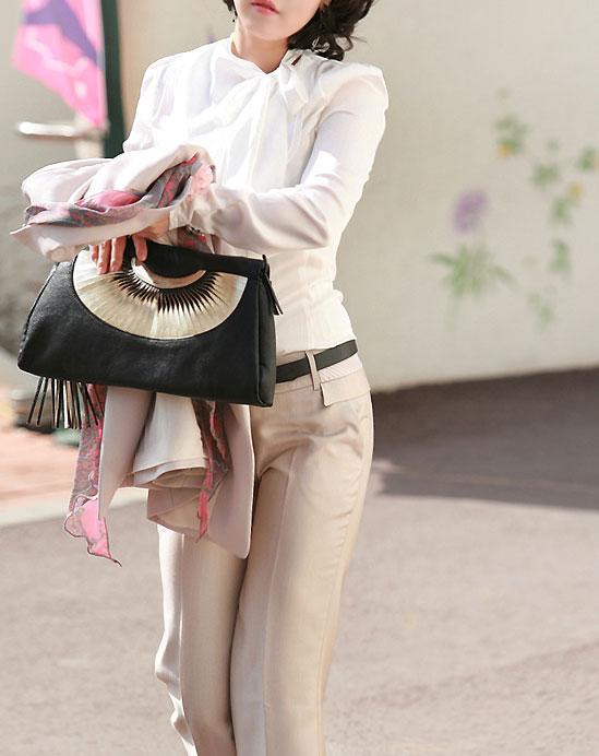 7 kết hợp với áo sơmi cho dân công sở, Thời trang, Áo sơ mi, công sở, chân váy, quần âu, phụ kiện