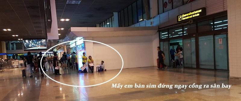 Mua sim tại sân bay Thái Lan