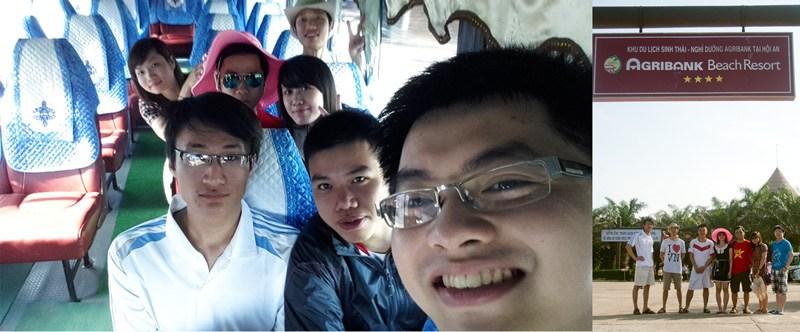 Check in sang chảnh – Ô tô to đùng đưa cả đoàn ra biển – Resort 4 sao :3