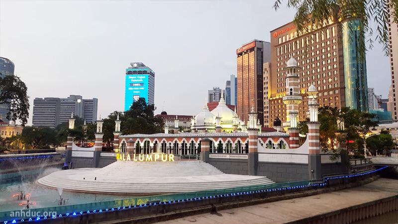 Nhà thờ Masjid JamekKuala Lumpur
