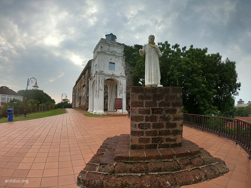 Nhà thờ St Paul's Church Malacca