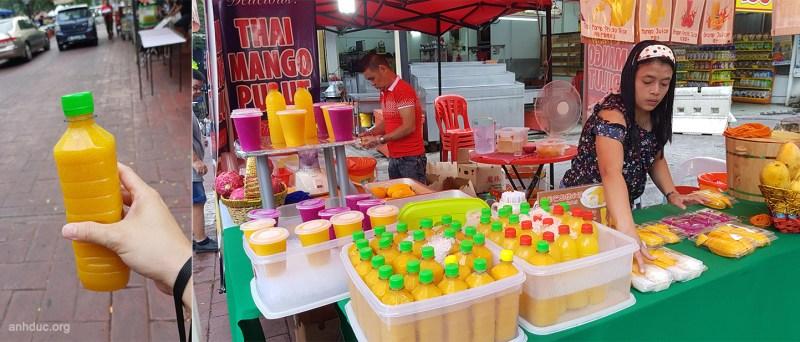 Lại sinh tố xoài tiếp - 8RM - Jalan Alor