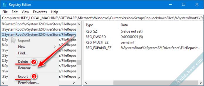 Chỉnh sửa registry trên Winpe với Remote Registry 4