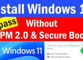 Cài Windows 11 bypass mọi máy với phần mềm 78setup trên WinPE