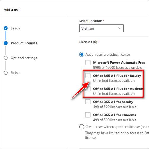 Tài khoản Office 365A1 Plus Vĩnh viễn Anhdv