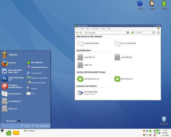 Windows XP Theme 48