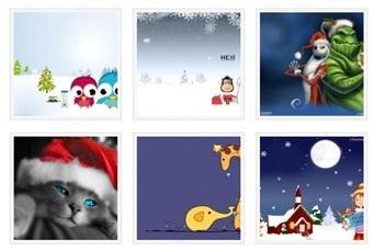 christmas_cartoon_series_windows7_theme