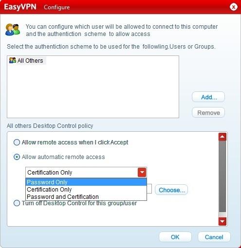 Comodo EasyVPN