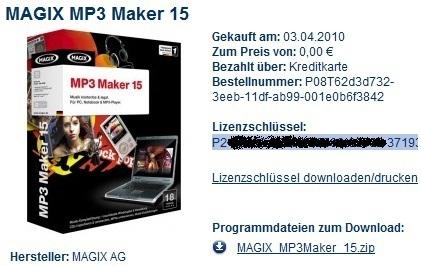 MagixMP3Maker15