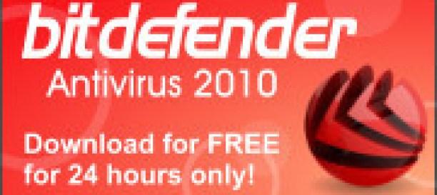 BitDefender Antivirus 2010 free license key